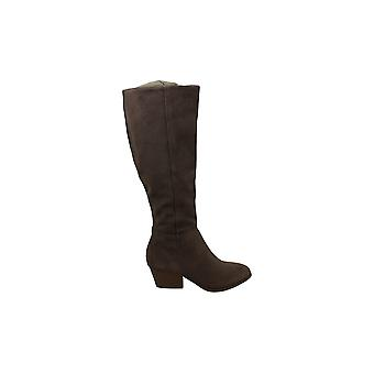 Style & Co. Womens izalea Mandel tå knä High Fashion Boots