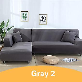 Elastic Stretch Sofa Cover Slipcover Couch For Universal Livingroom Sectional L Shaped Slipcover
