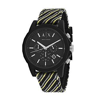 AX1334, Armani Exchange Men's Classic - Negro - Reloj de cuarzo