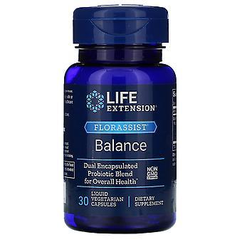 Extensión de vida, Equilibrio FLORASSIST, 30 Cápsulas Vegetarianas Líquidas