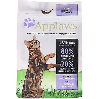 Applaws Dry Adult Cat - Kip & Eend - 400g