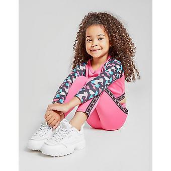 Nya McKenzie Girls' Pametto Leggings Rosa
