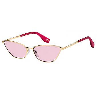 Sunglasses Women's Cat-Eye pink/gold