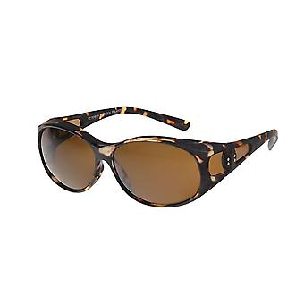 Sunglasses Unisex brown with brown lens VZ1001B