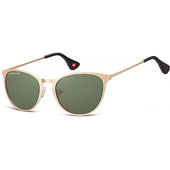 Sunglasses Unisex Panto Gold MP88G