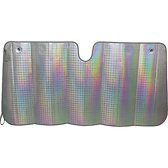 zonnescherm voorruit Laser XL 145 x 80 cm zilver