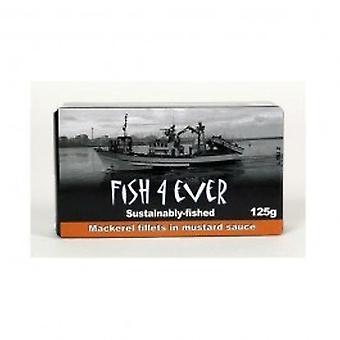 Fish 4 Ever - 50% OFF Mackerel Fillets in Mustard Sa 125 g