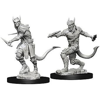 D&D Nolzur's Marvelous Unpainted Miniatures Tiefling Male Rogue (Pack of 6)