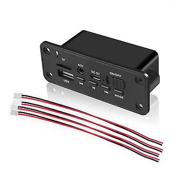 Scheda decoder Dc 5v Bluetooth Mp3, amplificatore usb wireless da 3w per auto