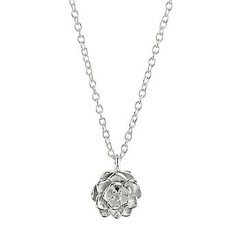 Dew Sterling Silver Wild Rose 18 Necklace 90803HP028