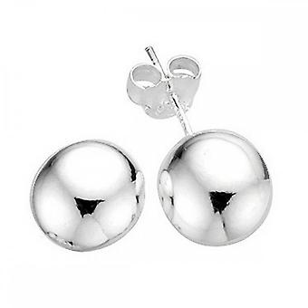 Beginnings Sterling Silver E3399 8mm Ball Stud Earrings