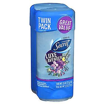 Secret Scent Antiperspirant - Deodorant Clear Gel Luxe Lavendel, 5.2 OzOz