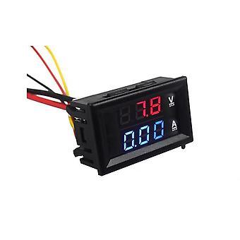 Digital Dc Voltmeter Ammeter for Model Jernbane Train