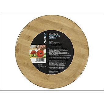 Chef Aid Bamboo Board Round 25cm 10E11395