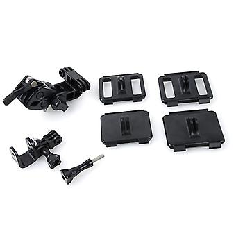 TMC HR259 Universal Retaining Clip Mount Set for GoPro NEW HERO / HERO7 /6 /5 /5 Session /4 Session /4 /3+ /3 /2 /1, Xiaoyi and Other Action Cameras