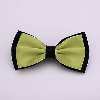 Men Bow Solid Fashion Skinny Bowties Bowtie Bow Tie Classic Bowties