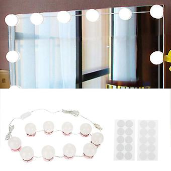Productos Dimmable Led Bombillas Kit para Vanity Maquillaje Mirror-usb Carga,