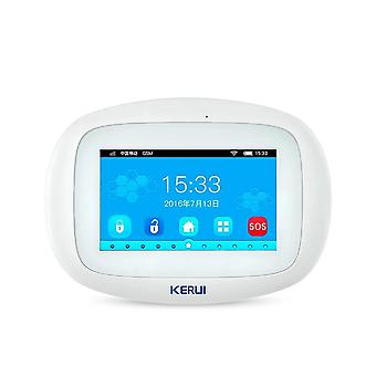 Kerui Wifi GSM Alarm System Tommers Full Farge Touch Display