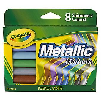 Metallische Marker, 8 Zählen