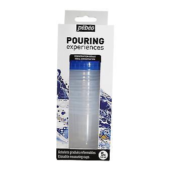 Pebeo Pouring Ervaringen Set van 5 Meetbekers