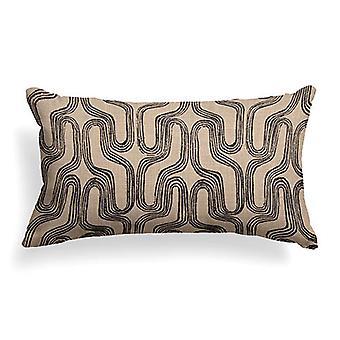 """Mixit Woven Decorative Lumbar Pillow 22"""" X 12"""",  Zola"""