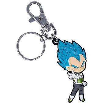 Dragon Ball Super Vegeta Keychain