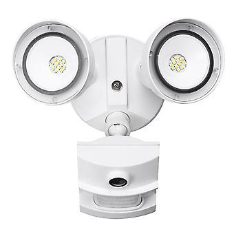 Dual Head Smart Floodlight 2.0MP Wifi IP Camera Security Lights Motion Sensor LED Lamp