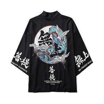 Σαμουράι Γερανός Ιαπωνικό Στυλ Κιμονό