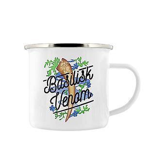 Deadly Detox Basilisk Venom Enamelled Mug