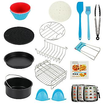 7/8 Inch Fit For Air Fryer 4.8qt-6.3qt Baking Basket Pizza Plate And Grill Pot