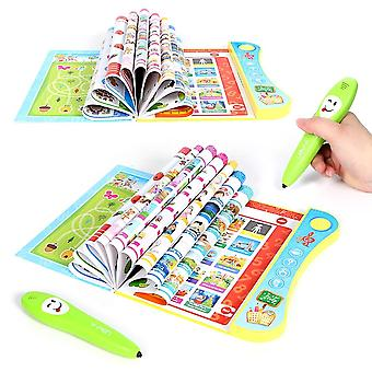 Electronic Y-book With Smart Logic Pen Multifunction Pronunciation Learning
