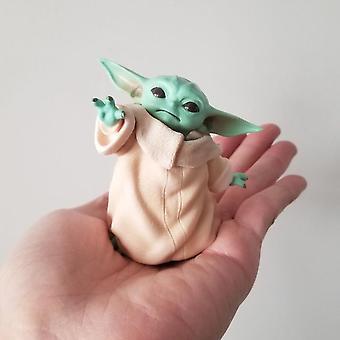 Baby Yoda Grogu Action Figure Doll