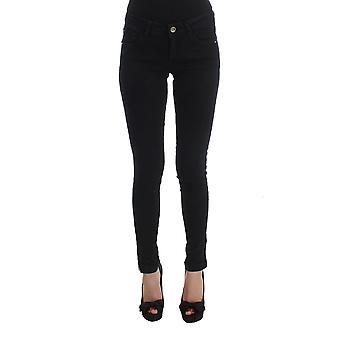 Costume National Black Cotton Slim Fit Denim Jeans