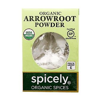 Spicely Organic Arrowroot Pulver