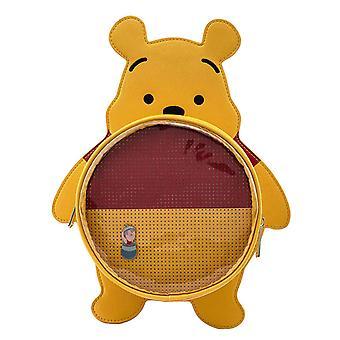 Loungefly Rugzak Winnie The Pooh Pin Trader nieuw Officieel Geel