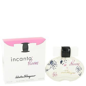 Incanto Bloom Eau De Toilette Spray (uutta pakkausta) Salvatore Ferragamo 3,4 oz Eau De Toilette Spray