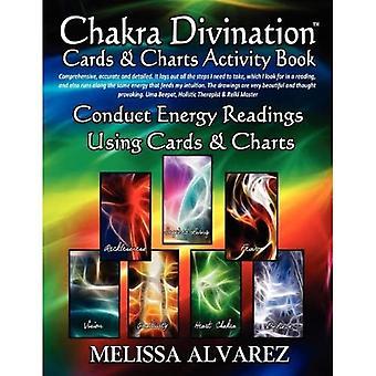 Chakra-divinationskort og diagrammer Aktivitetsbog