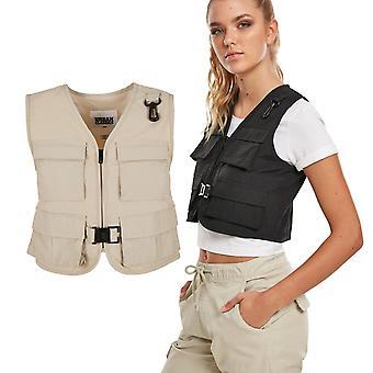 Urban Classics Ladies - Short Tactical Vest black