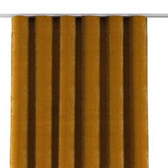 Golfgordijn, geel, 65x280cm, Fluweel, 704-23