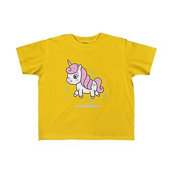 Pink Enhjørning Kid Tee