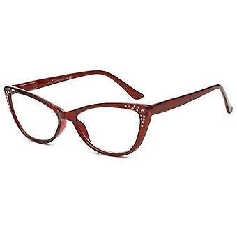 Divat anti kék fény olvasó szemüveg macska szeme alakja átlátszó