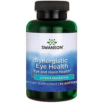 Swanson Synergistic Eye Health Luteïne & Zeaxanthine 60 Softgels