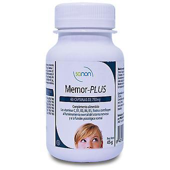 Sanon Memor-Plus 750 mg 60 Capsules