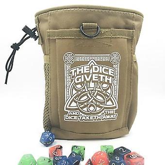 Kocky dať a taketh Deluxe kocky taška