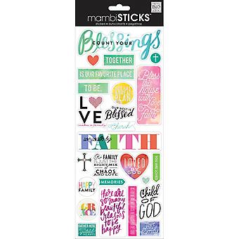 Me And My Big Ideas - Count Your Blessings Stickers