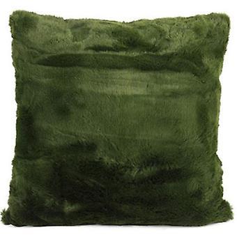 pillow Jozias 45 x 15 cm fleece green