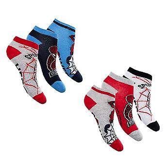 Spiderman 3-Pack Knöchel Socken
