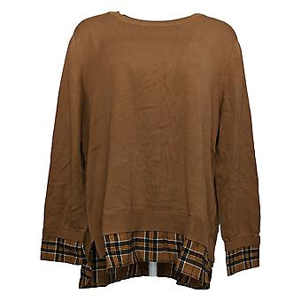 Joan Rivers Classics Collection Women's Sweater Brown A366908