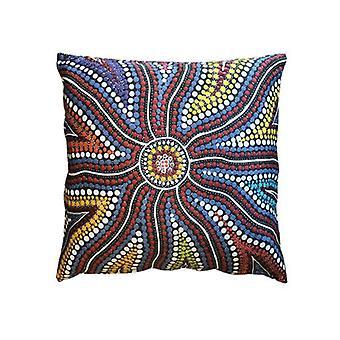 Sunshine Aboriginal Designed Giant Cushion Bean Bag