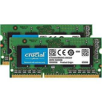 HanFei RAM CT2KIT51264BF160B 8GB Kit (2x4GB) DDR3 1600 MHz CL11 Laptop-Speicher-Kit
